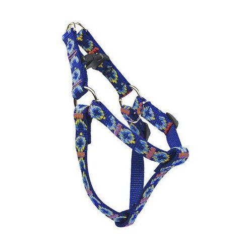 Chaba szelki taśmowe regulowane ozdobne kolor: niebieski 16mm/50cm (5905133606967)