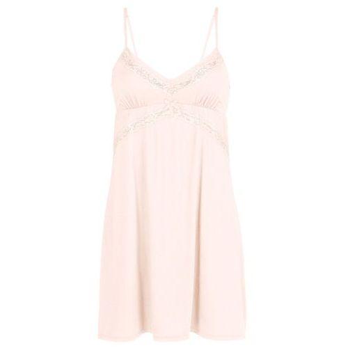 Koszulka nocna bonprix pudrowy, kolor różowy