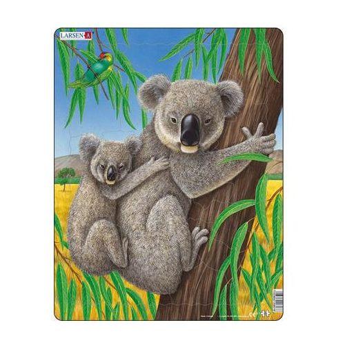 Puzzle maxi - medvídek koala s mládětem/25 dílků marki Neuveden