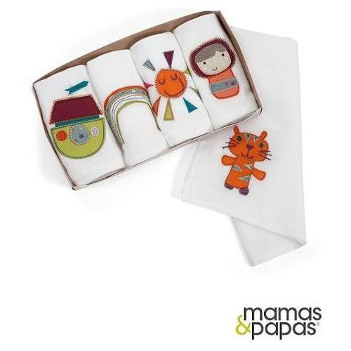 MAMAS&PAPAS Pieluszki muślinowe - opakowanie prezentowe, kolekcja Timbuktales ()