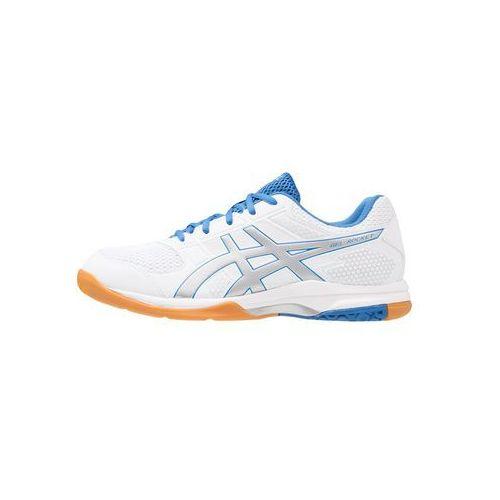 gelrocket 8 obuwie do siatkówki white/silver/classic blue marki Asics