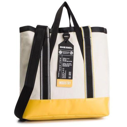 Diesel Torebka - f-caorly t back x06083 p2210 h7083 light ecru/freesia yellow