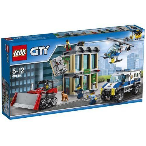 LEGO City: Bulldozer Break-In (60140). Najniższe ceny, najlepsze promocje w sklepach, opinie.