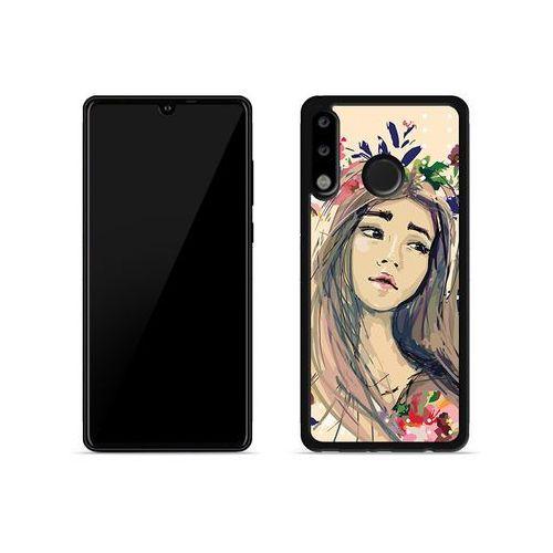 Huawei P30 Lite - etui na telefon Aluminum Fantastic - kolorowy wianek, ETHW847HBFNFC118000