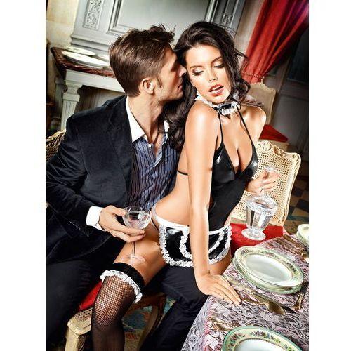 Przebranie pokojówki - baci at your service french maid set one size, Baci lingerie