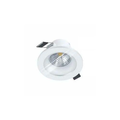 salabate 98241 oczko lampa wpuszczana downlight 1x6w led biały/transparentny marki Eglo