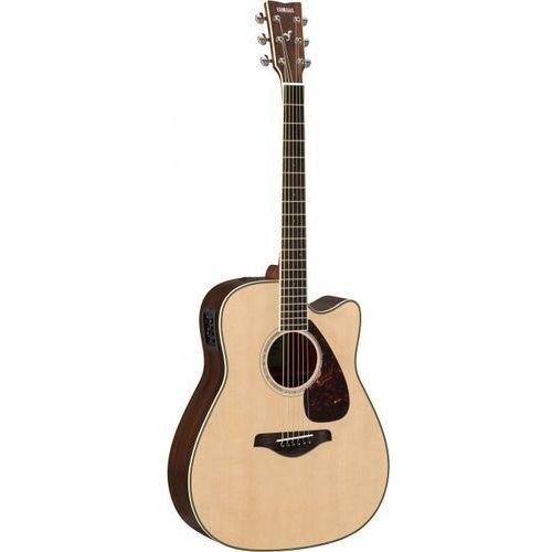 Yamaha FGX 830 C NT gitara elektroakustyczna, solid top, cutaway, natural