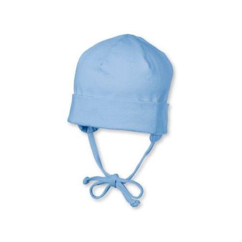 Sterntaler boys czapeczka wiązana jersey, kolor jasnoniebieski (4043168413608)