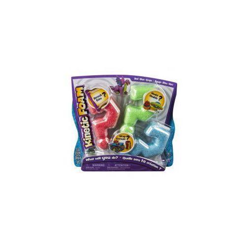 Kinetic Foam Multi 3-pak czerwony, zielony, niebieski *, CentralaZ8853