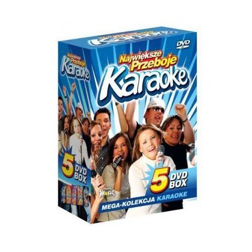 Największe przeboje karaoke vol. 1 - mega kolekcja karaoke (5 płyt dvd) marki Ryszard music
