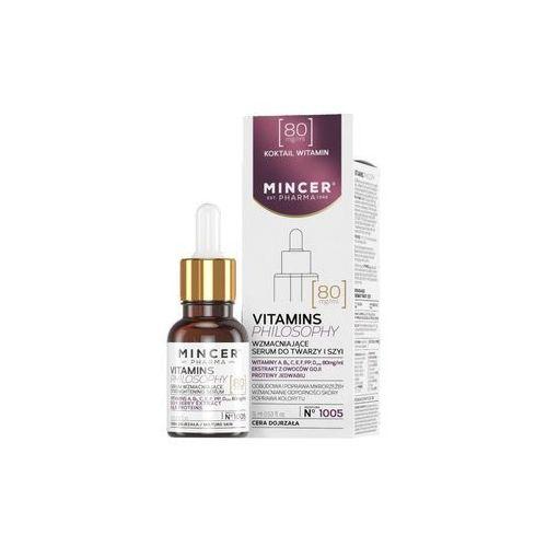Mincer pharma vitamins philosophy serum wzmacniające do twarzy i szyi nr 1005 15ml - mincer darmowa dostawa kiosk ruchu