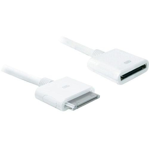 Delock Przedłużacz do ipad/iphone/ipod  1624686, [1x złącze męskie apple dock - 1x złącze żeńskie apple dock], 1 m (4043619827008)