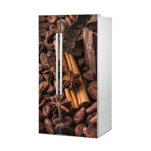 Stikero Mata magnetyczna na lodówkę side by side - czekolada z cynamonem 4979