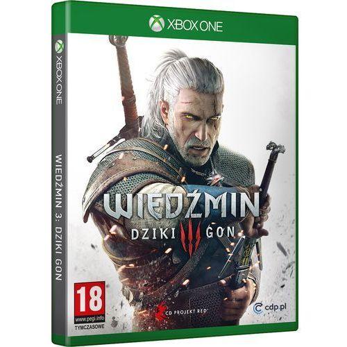 Gra Wiedźmin 3 Dziki Gon z kategorii: gry Xbox One