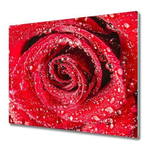 Deska do krojenia Krople wody na róży