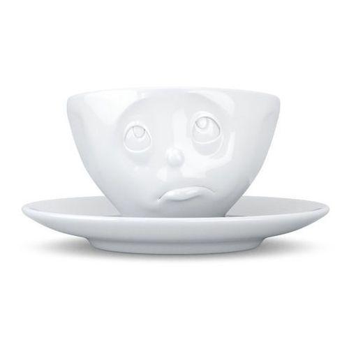 - filiżanka do espresso - zadąsana buźka - biała - 0,1 l marki 58products