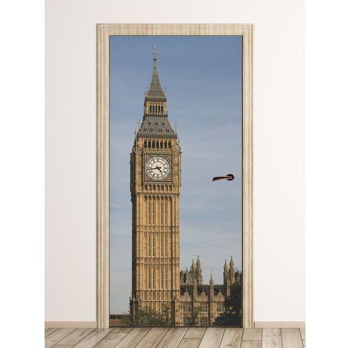 Wally - piękno dekoracji Fototapeta na drzwi big ben fp 6112