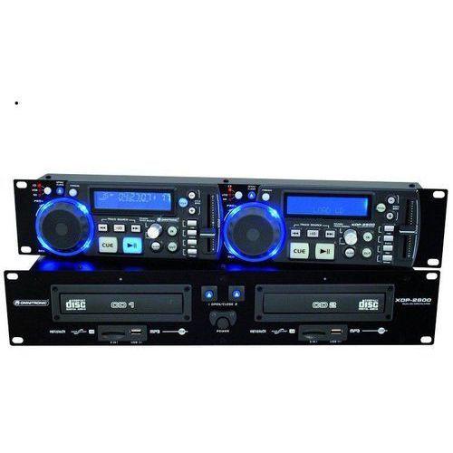 Omnitronic XDP-2800 podwójny odtwarzacz CD SD USB