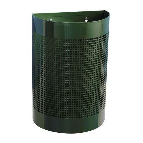 Pojemnik na odpady Hudson, ścienny, 25 L, zielony, 23086