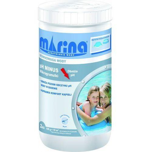 Preparat obniżający pH MARINA pH Minus mikrogranulki 2 kg + Zamów z DOSTAWĄ JUTRO!
