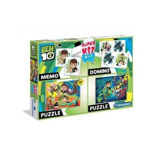 Superkit 2x30 elementów Memo Domino Linia Specjalna Ben 10 (8005125082186)