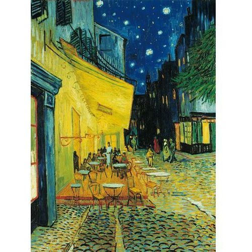 Puzzle Museum 1000 elementów - Van Gogh: Cafe terrace at night (8005125314706)