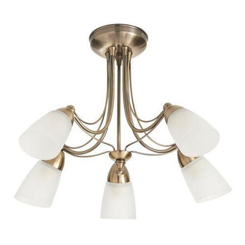 Colours Lampa sufitowa trivia 5 x 40 w e14 złoto antyczne (3663602802013)