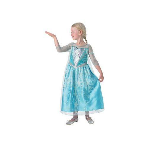 Kostium Frozen Elsa Premium dla dziewczynki - Roz. M