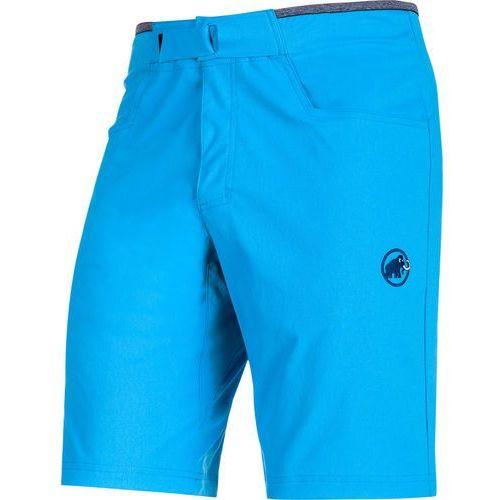 massone spodnie krótkie mężczyźni niebieski de 52 2018 szorty wspinaczkowe marki Mammut