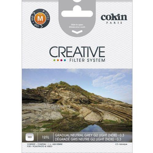 Cokin P121l - filtr połówkowy szary nd2 (light) p 121l