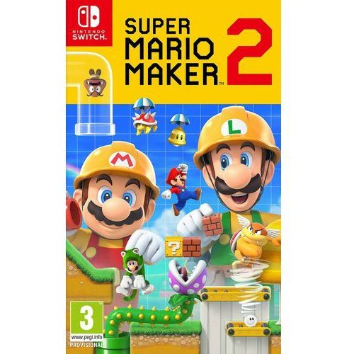Nintendo Super mario maker 2 (0045496424343)