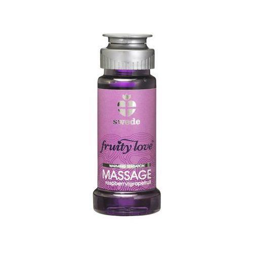 Balsam owocowy do masażu - Swede Fruity Love Massage malina i grejfrut 50ml