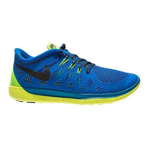 Buty Nike Free 5.0 (GS) - Niebieski