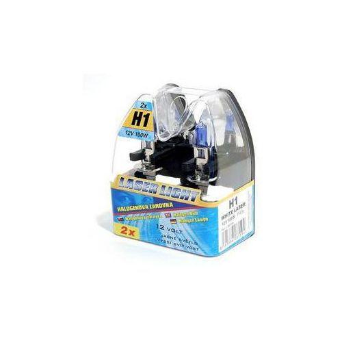 Compass Auto żarówka 12 v h1 100w white laser 2 szt