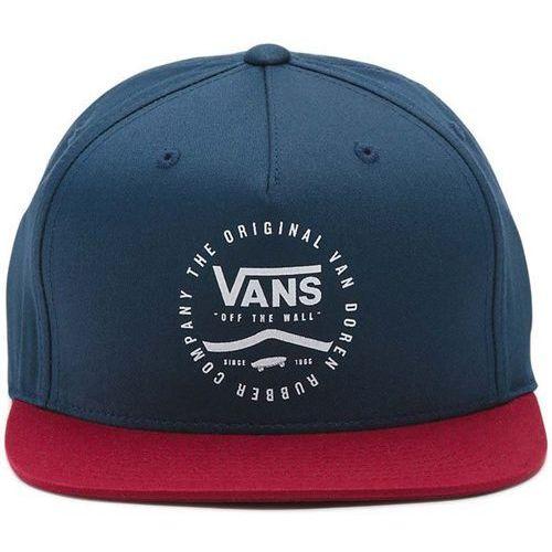 czapka z daszkiem VANS - Side Stripe Snapb Dress Blues-Rhu (J3C) rozmiar: OS, kolor niebieski