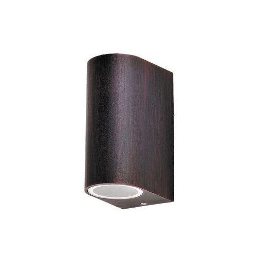 Rabalux Kinkiet zewnętrzny lampa ścienna chile 2x35w gu10 ip44 antyczny brąz 8019
