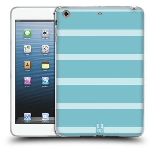 Etui silikonowe na tablet - paski jasne niebieskie marki Head case