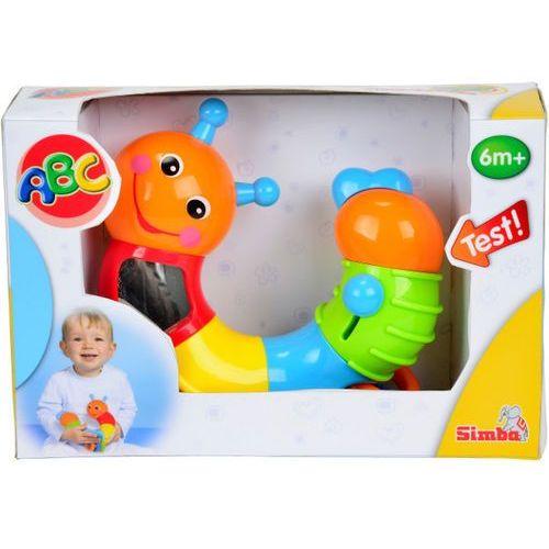 Simba  abc ruchoma gąsienniczka - simba toys (4006592410384)
