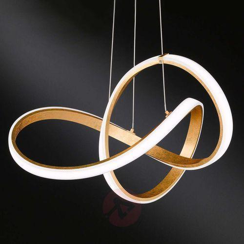 Indigo - gięta lampa wisząca LED, 004054-003764