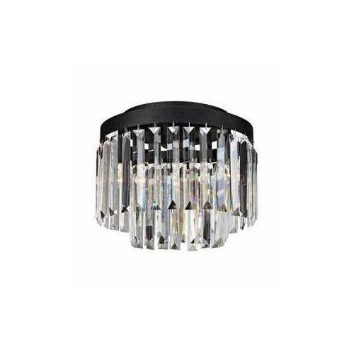 Plafon lampa sufitowa Markslojd Ventimiglia 3L 3x40W E14 czarny/przezroczysty 106564 - NEGOCJUJ CENĘ, 106564
