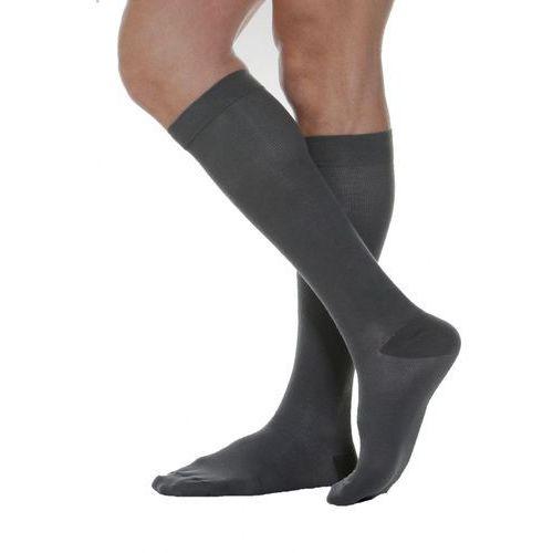 Podkolanówki uciskowe bawełniane przeciwżylakowe 2 klasa kompresji 2 czarny marki Relaxsan