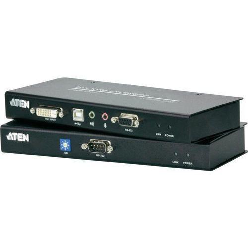 Extender DVI, USB 2.0 ATEN CE600-AT-G, przez kabel sieciowy RJ45, 60 m, 1920 x 1200 px