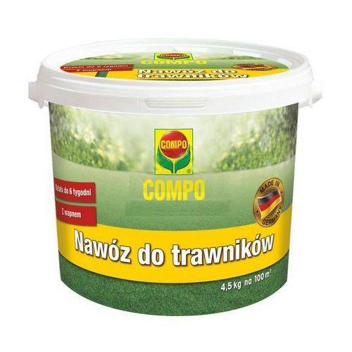 Compo nawóz z wapnem do trawników, 4,5 kg