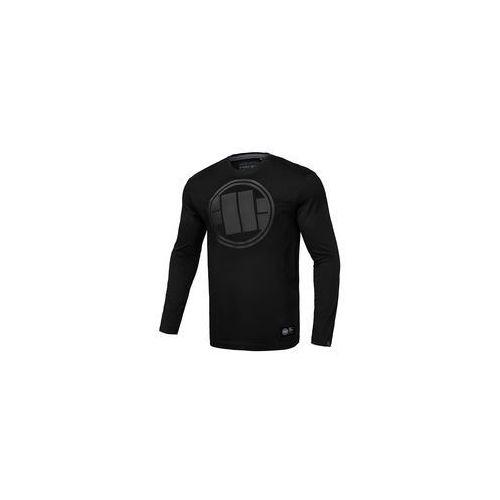 Koszulka z długim rękawem pit bull one tone logo'19 - czarna (239122.9000) marki Pit bull west coast