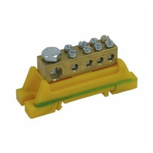 Zacisk listwa zaciskowa PE Z-0001B 46.33 żółt-ziel 7201 (5905548287201)