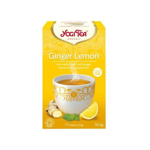 imbirowo-cytrynowa (lemon ginger) marki Yogi tea