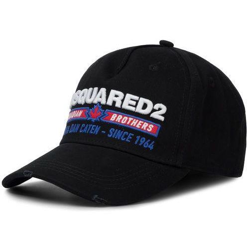 Czapka z daszkiem DSQUARED2 - Embroidered Cargo Baseball Caps BCM0246 05C00001 2124 Nero