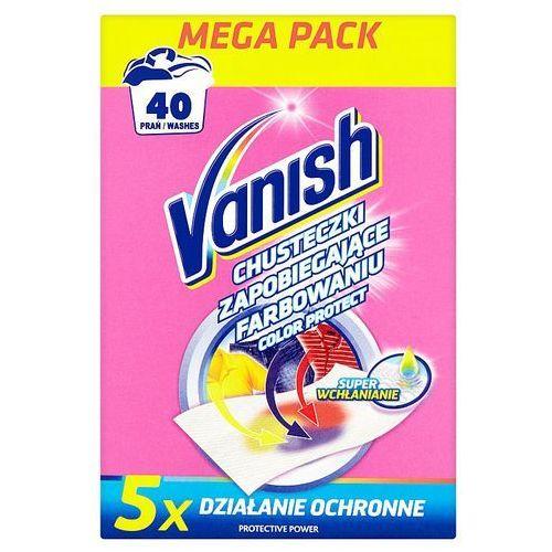 Vanish 20szt color protect chusteczki zapobiegające farbowaniu (40 prań) (5900627061970)