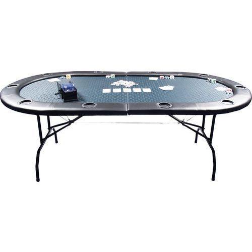 Stół do gry w pokera GAMBLER 210x105x73 /składany/, P-0110