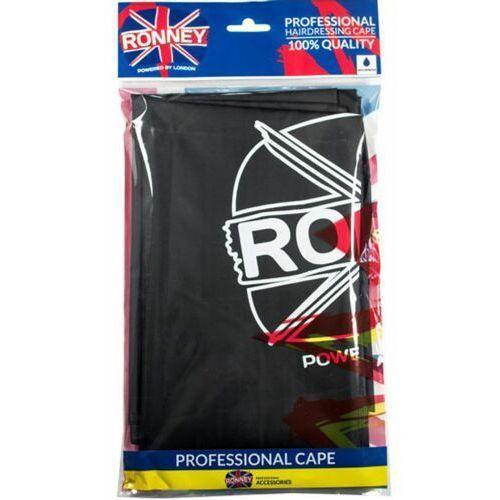 cape waterproof black peleryna fryzjerska wodoodporna (czarna) marki Ronney